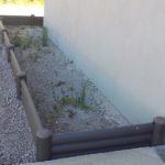 Bordure carré jardinière hauteur30cm